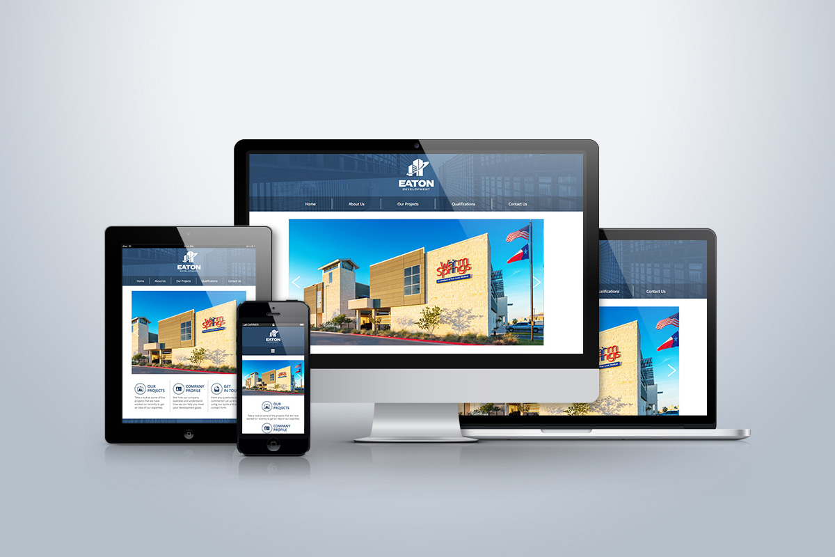 Website Design Development Mobile Friendly Eaton Development