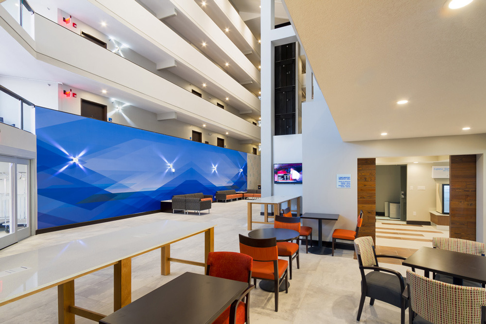 Photography Architectural Interior Holiday Inn
