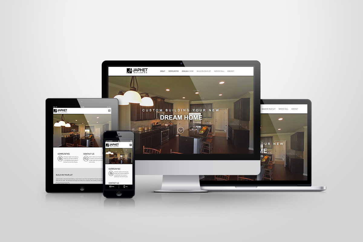Website Design Development Mobile Friendly Japhet Builders