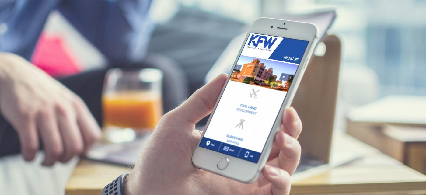 KFW Engineers Luna Creative Mobile Friendly Website Design
