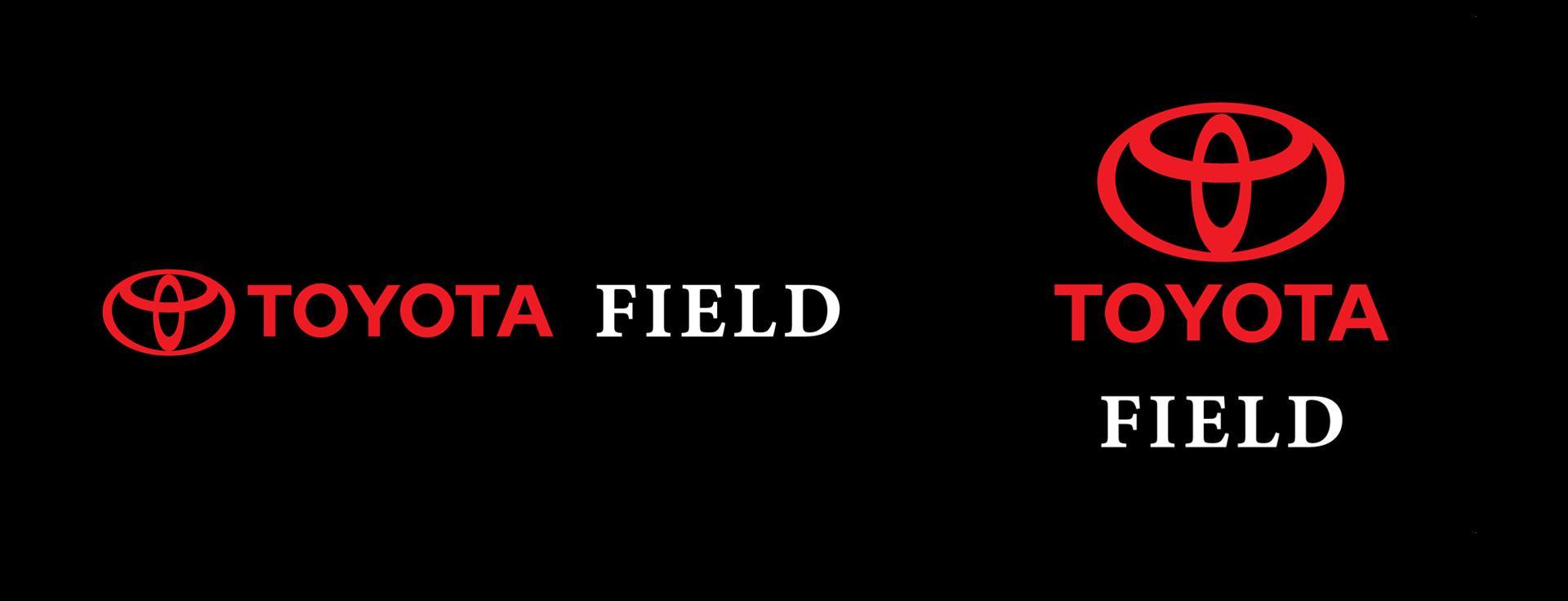 Toyota Field Logo Black