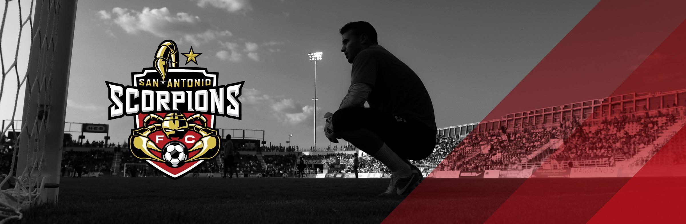San Antonio Scorpions Graphic Design
