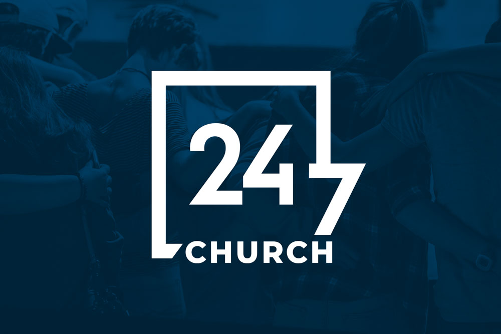 Graphic Design Logo Design Branding 247 church Logo