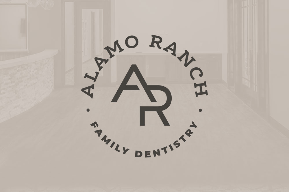 Graphic Design Logo Design Branding Alamo Ranch Family Dentistry Logo