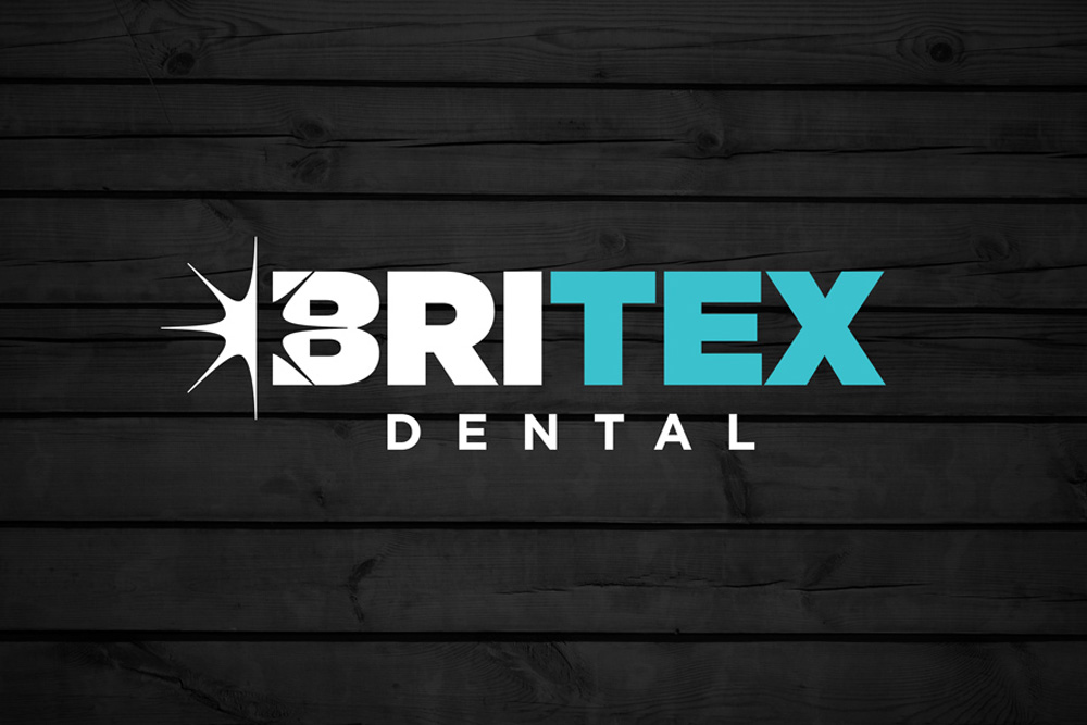 Graphic Design Logo Design Branding Britex Dental Logo