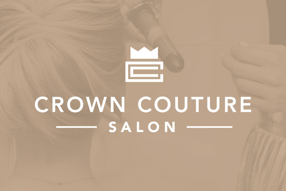 Graphic Design Logo Design Branding Crown Couture Logo