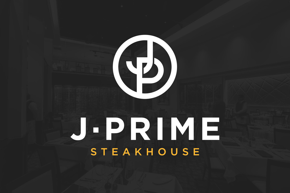 Graphic Design Logo Design Branding J-Prime Steakhouse Logo