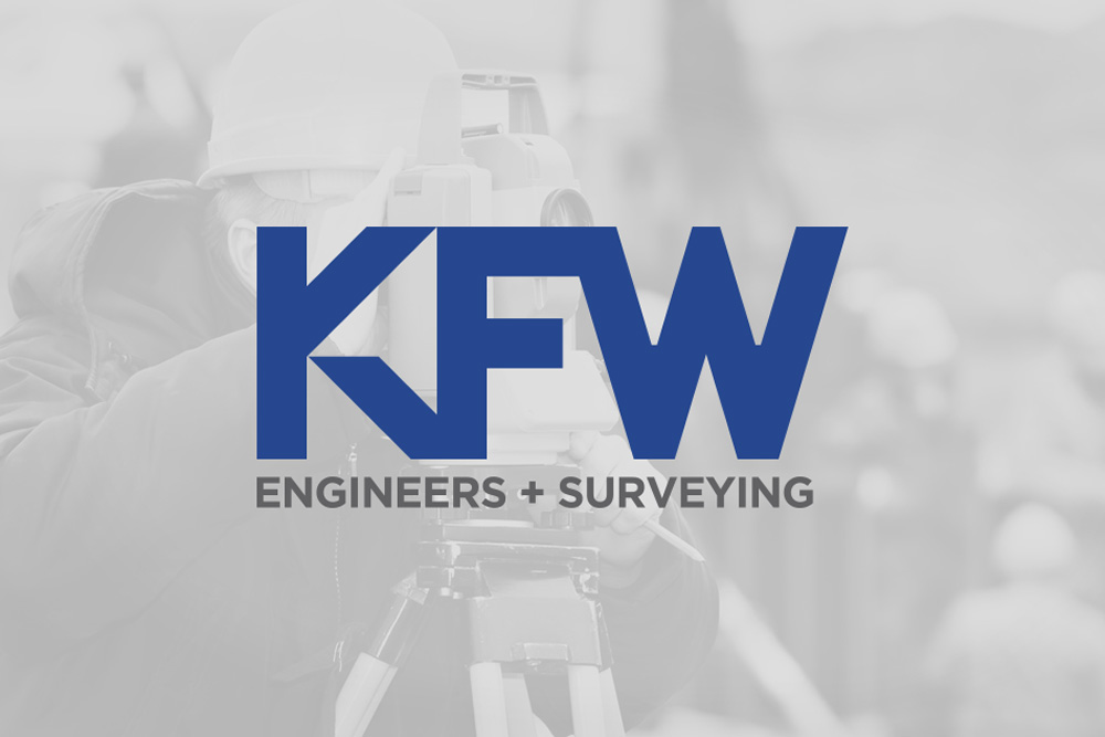 Graphic Design Logo Design Branding KFW Engineers Logo