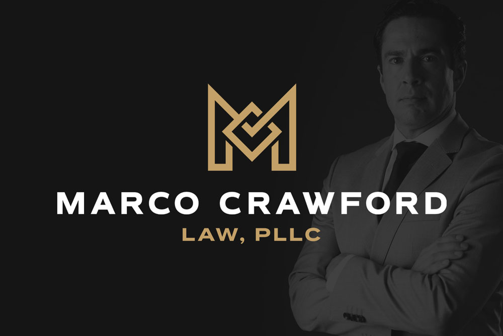 Graphic Design Logo Design Branding Marco Crawford Law Logo
