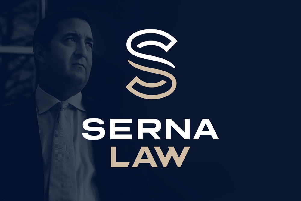 Graphic Design Logo Design Branding Serna Law Logo