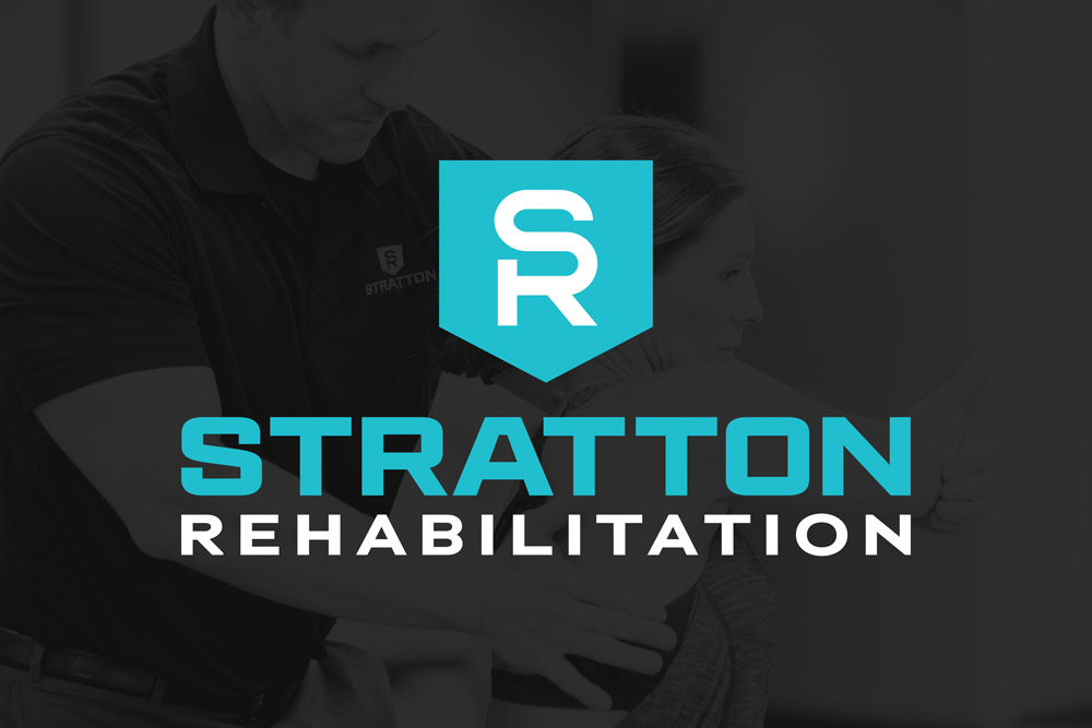 Graphic Design Logo Design Branding Stratton Rehabilitation Logo
