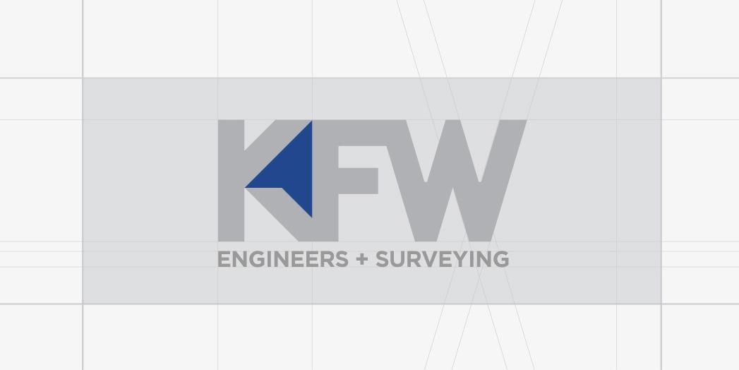 KFW Engineers Luna Creative Logo Sketch