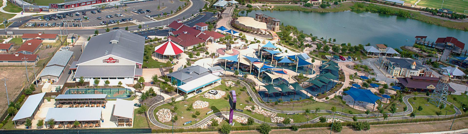 Morgan's Wonderland San Antonio Aerial View