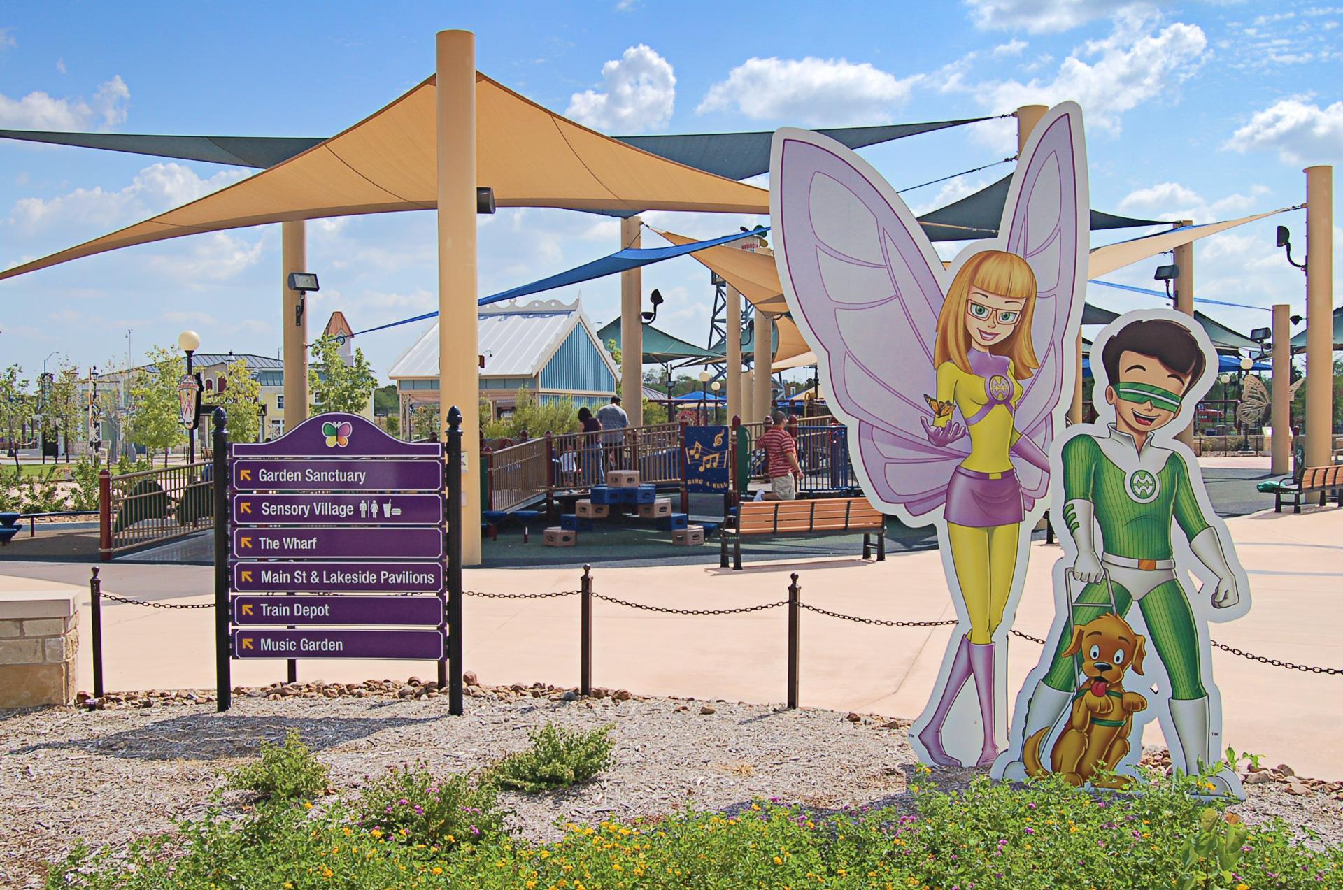 Morgan's Wonderland San Antonio Digital Illustration Character Design