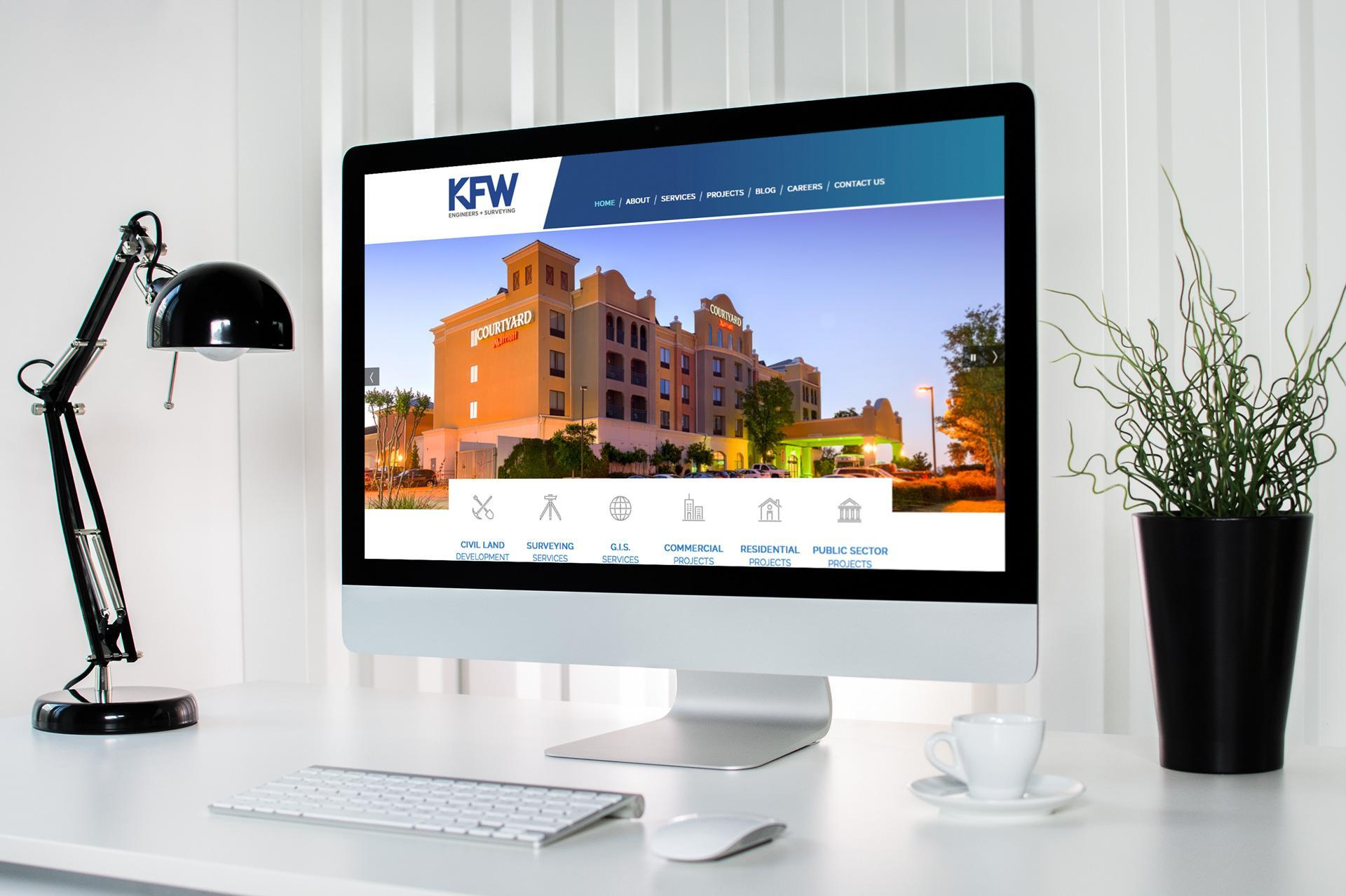 KFW Engineers Luna Creative Web Design