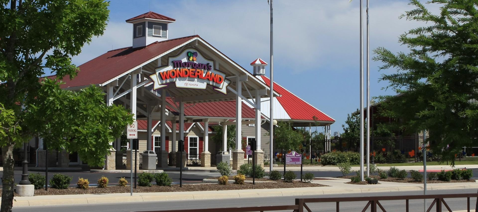 Morgan's Wonderland San Antonio Logo Design Signage